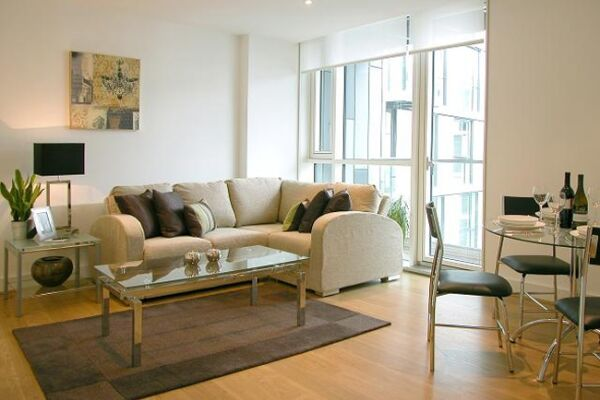 Living Area, Times Square Serviced Apartments, Aldgate - thumbnail
