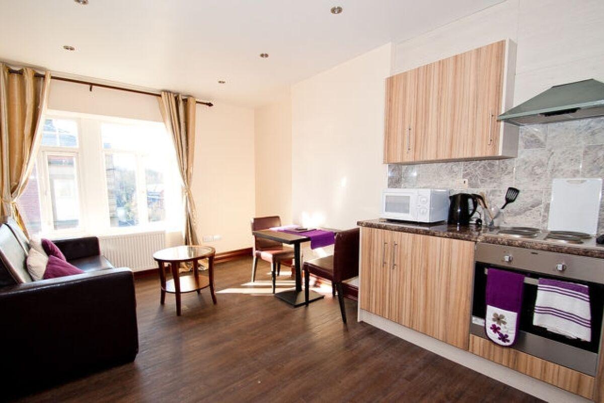 Living Area, Langsett Road Serviced Apartment, Sheffield