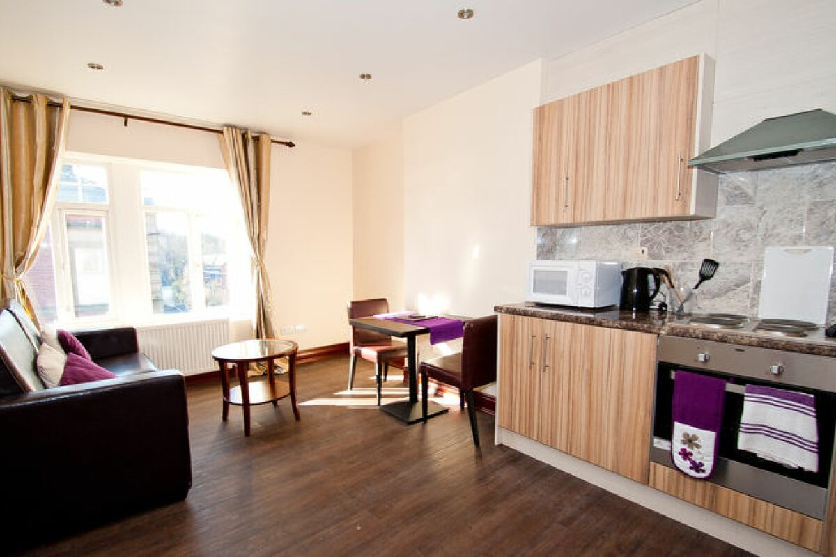 Living Area, Langsett Road Serviced Apartment, Sheffield