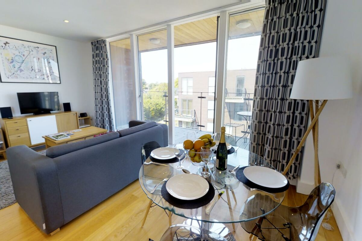 Living Area, Accordia Serviced Apartments, Cambridge