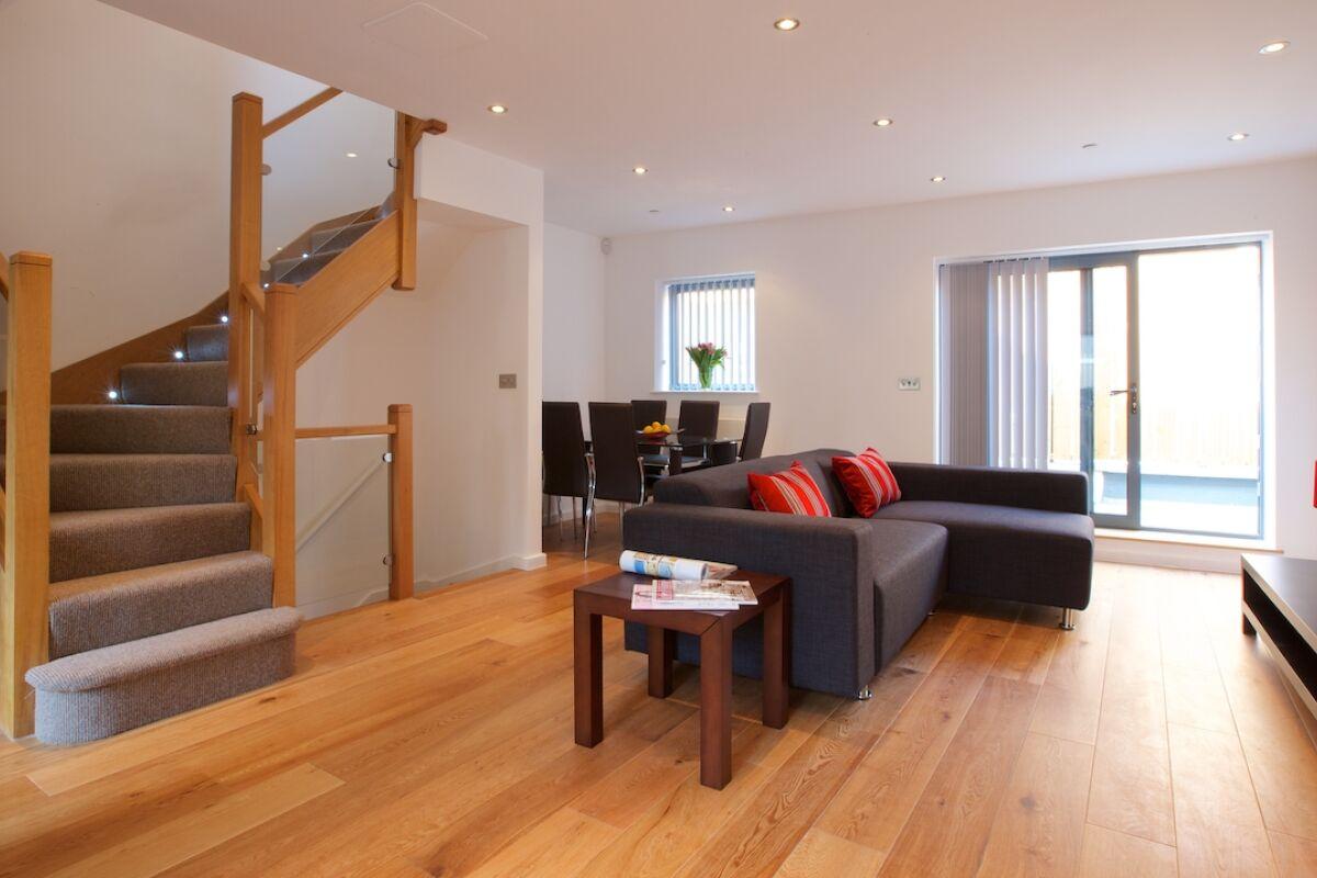 Living Room, Edgware Road Serviced Apartments, Marylebone, London