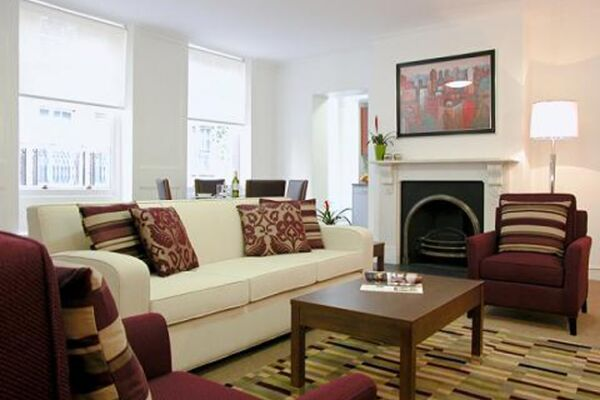 Living Area, The Kings Wardrobe II Serviced Apartments, Blackfriars - thumbnail