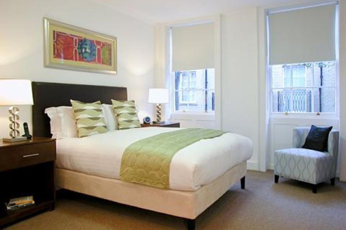 Bedroom, The Kings Wardrobe II Serviced Apartments, Blackfriars