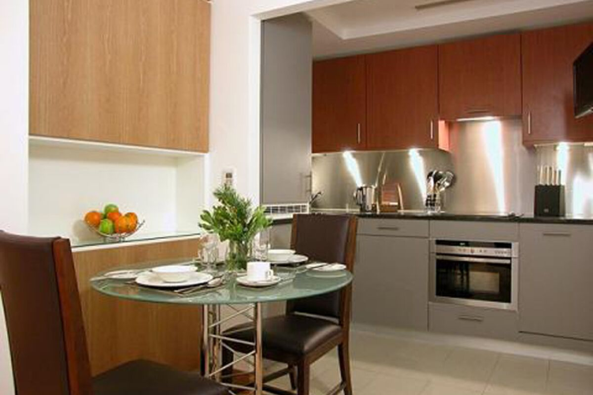 Kitchen, The Kings Wardrobe II Serviced Apartments, Blackfriars