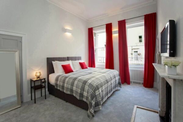 Bedroom, New Brunswick Serviced Apartments, Bath