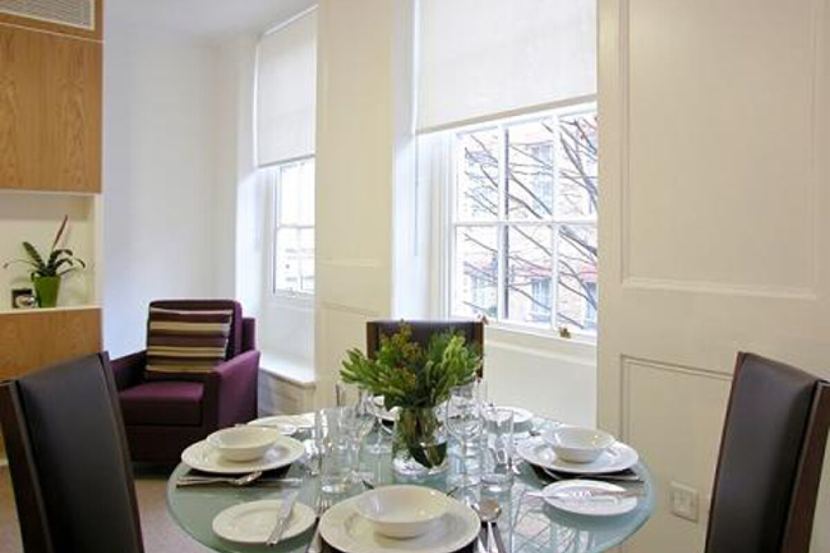 Dining Area, The Kings Wardrobe II Serviced Apartments, Blackfriars