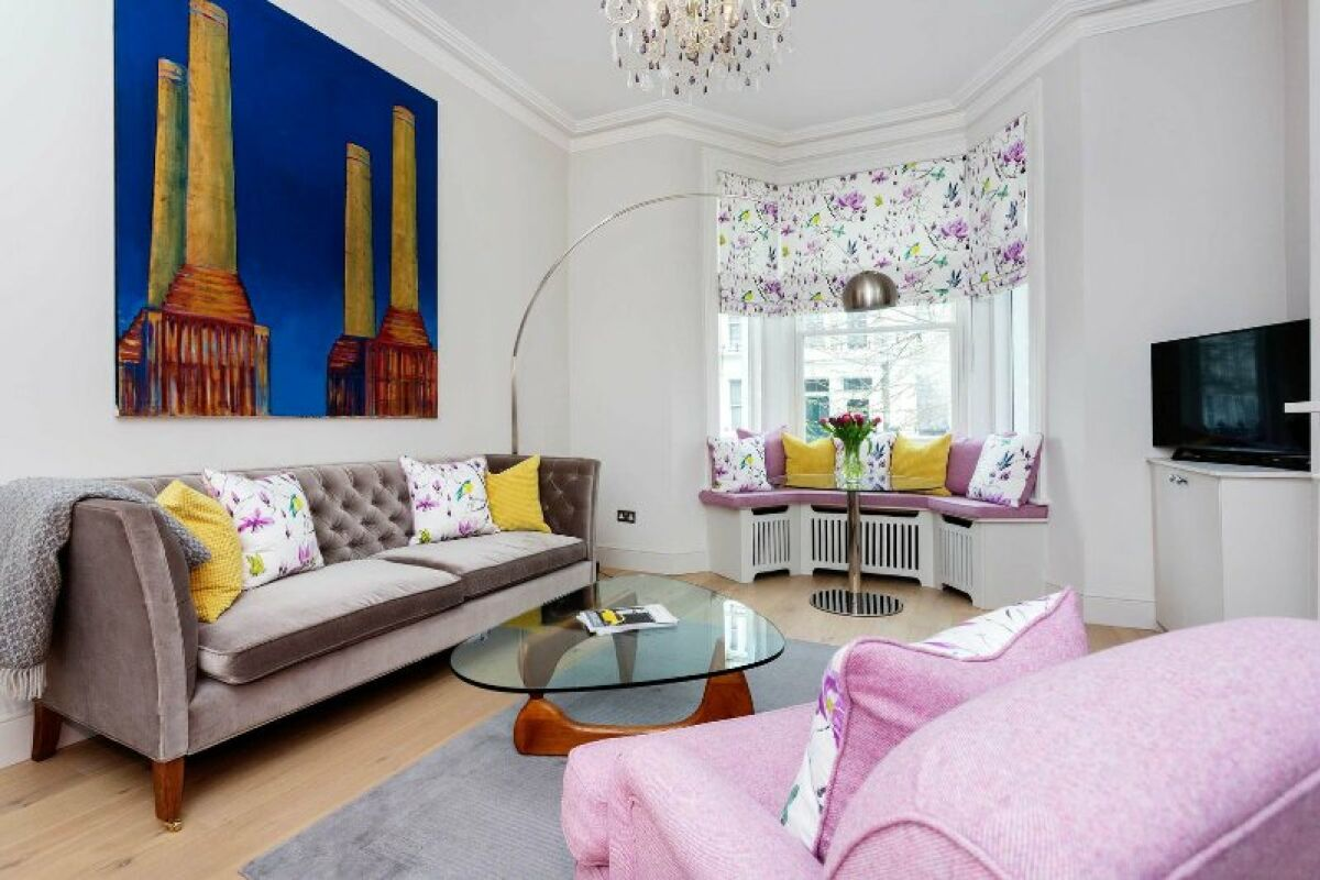 Living Room, Redcliffe Haven Serviced Apartments, Kensington