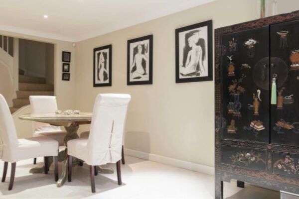 Dining Area, Pooles Serviced Apartments, Chelsea