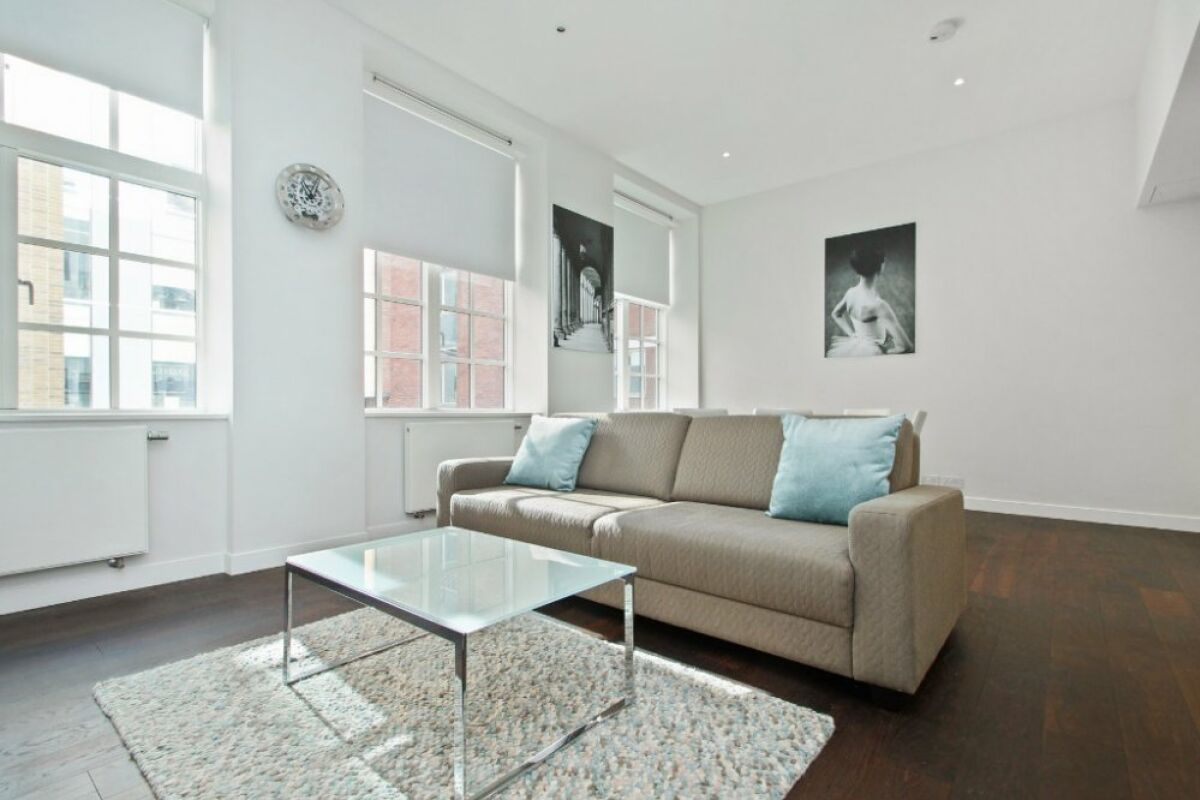 Living Area, Picton Place Serviced Apartment, Marylebone, London