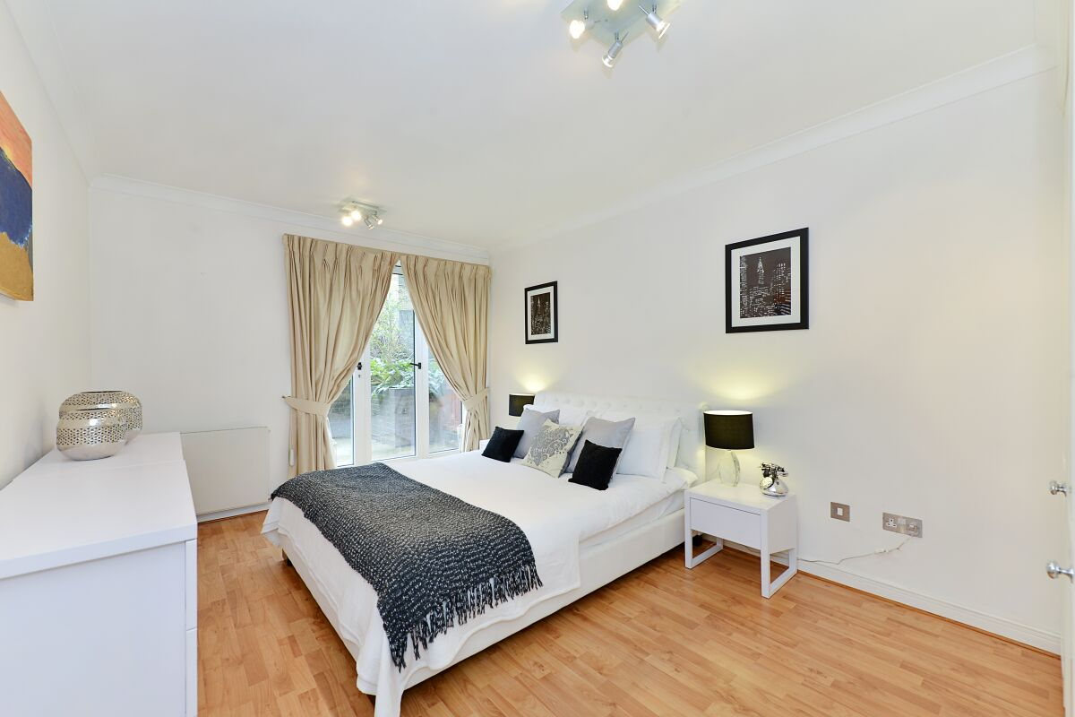 Bedroom, Vestry Court Serviced Apartments, Westminster