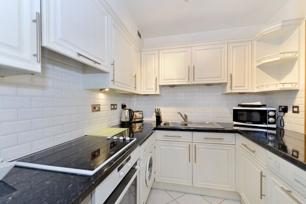 Kitchen, Vestry Court Serviced Apartments, Westminster