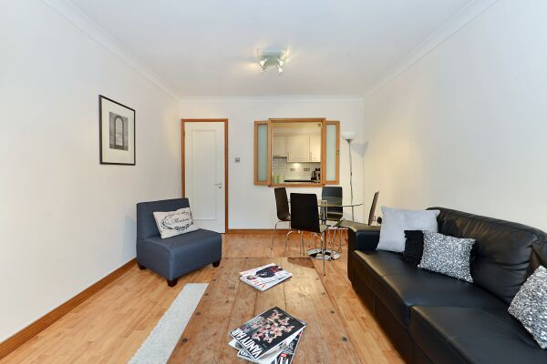 Living Area, Vestry Court Serviced Apartments, Westminster