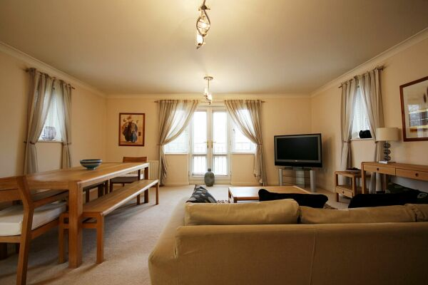 Living Area, Gray Place Serviced Apartments, Bracknell