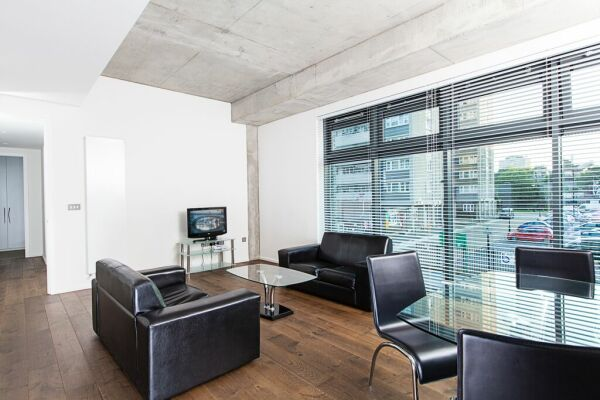 Living room, serviced apartment, Clerkenwell and Finsbury