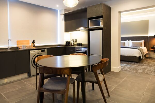 Kitchen Area, The Mirage Serviced Apartments, Cape-Town