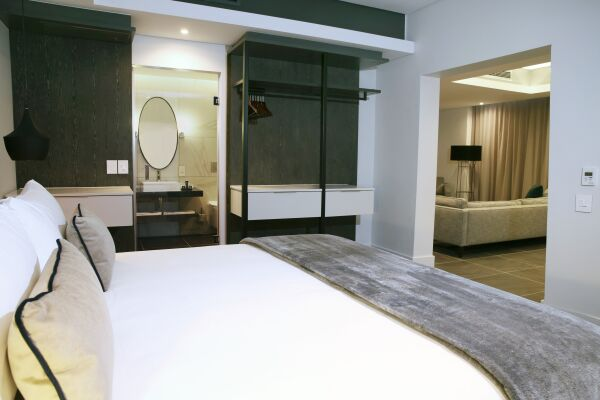 Bedroom, The Mirage Serviced Apartments, Cape-Town
