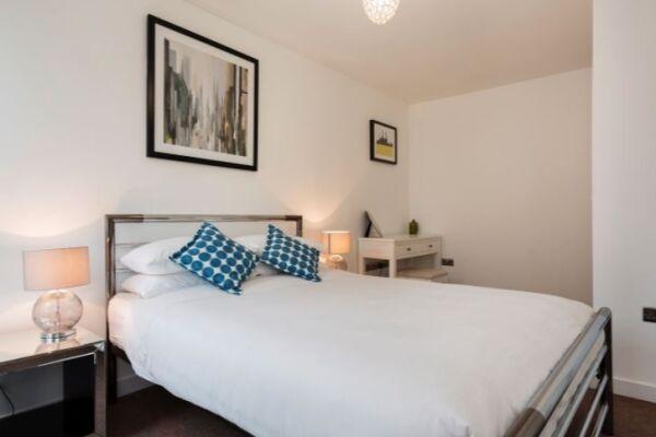 Bedroom, London Bridge Serviced Apartment, Southwark