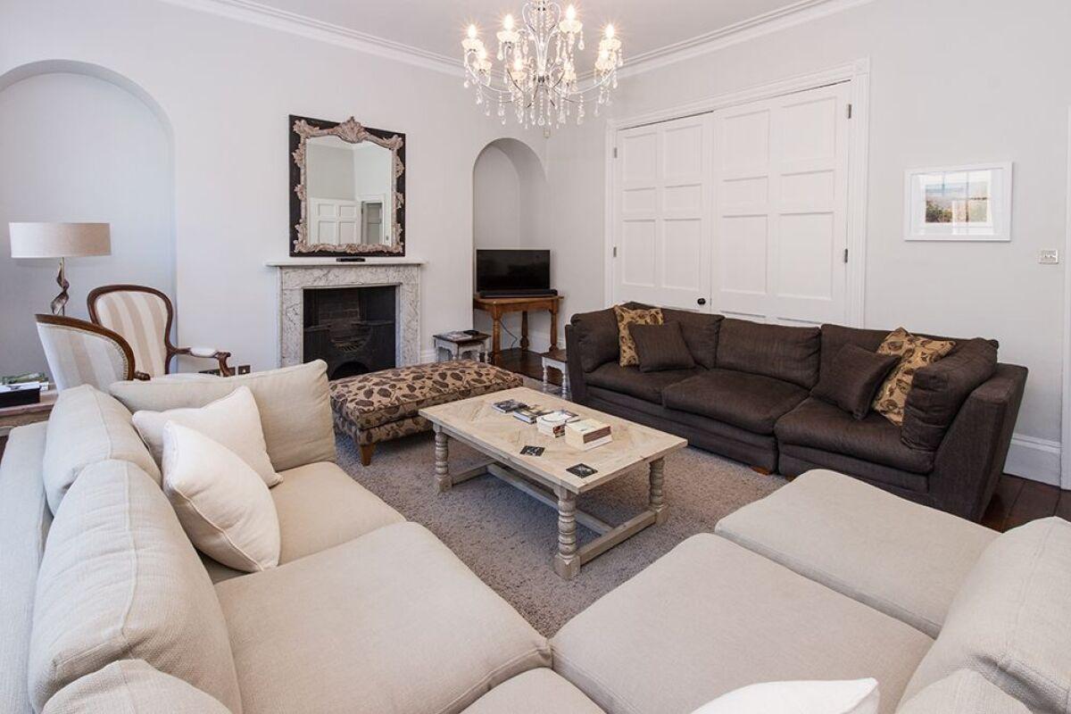 Sitting Area, Street House Serviced Accommodation, Bath