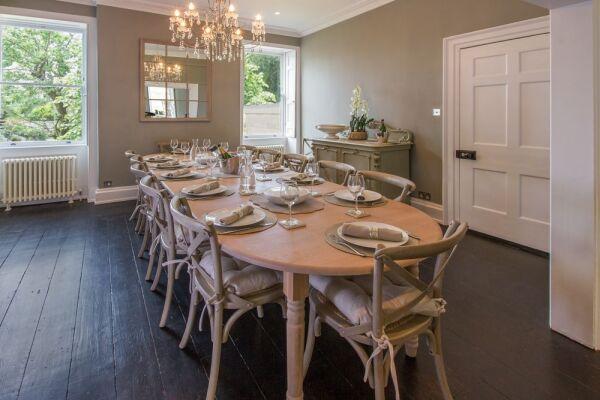 Dining Area, Street House Serviced Accommodation, Bath