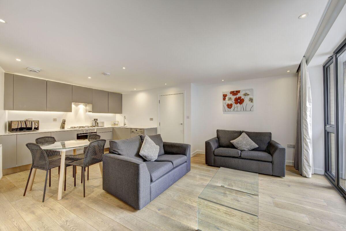 Living Area, London Bridge Serviced Apartments, London
