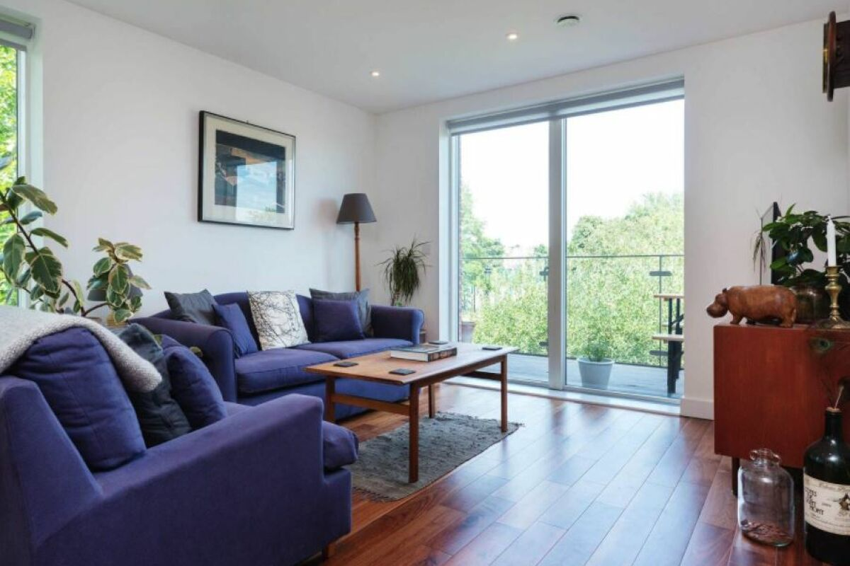 Sitting Area, Beaufort Court Serviced Apartment, West Hampstead