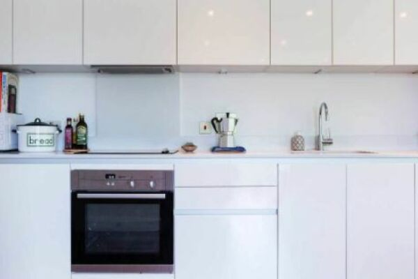 Kitchen, Beaufort Court Serviced Apartment, West Hampstead