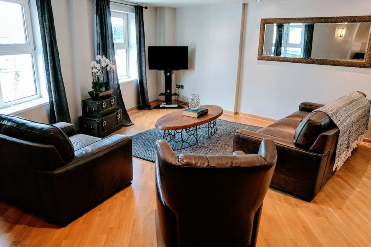 Waterloo Street Serviced Apartments in Leeds, Living Area