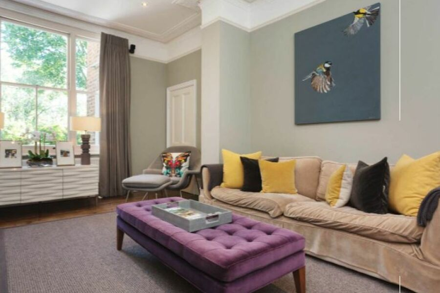 Clapham Larkhall Rise Apartment - Clapham, South West London