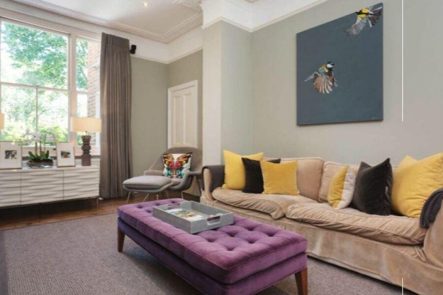 Clapham Larkhall Rise Apartment - Clapham, South West London