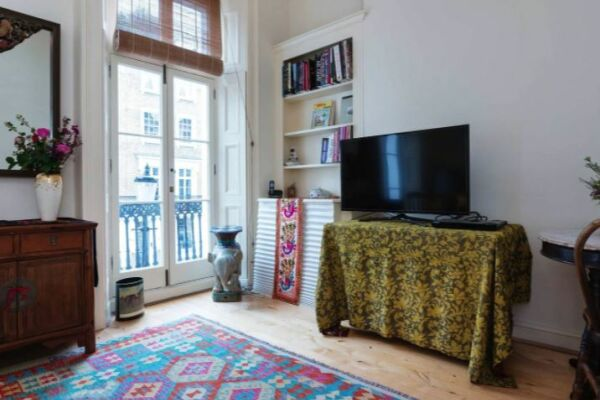Sitting Area, Sloane Square Serviced Apartment, Chelsea