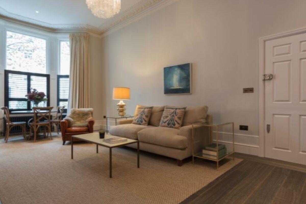 Sitting Area, Portobello Road Serviced Accommodation, Ladbroke Grove