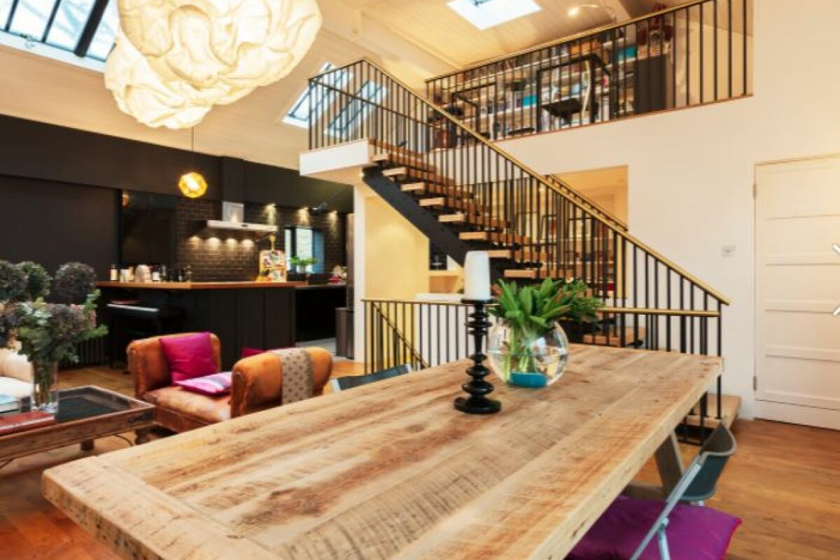 Sitting and Dining Area, Notting Hill House Serviced Accommodation, Ladbroke Grove