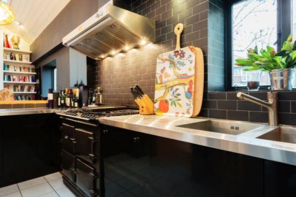 Kitchen, Notting Hill House Serviced Accommodation, Ladbroke Grove