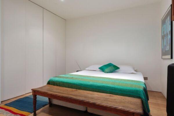 Bedroom, Notting Hill House Serviced Accommodation, Ladbroke Grove