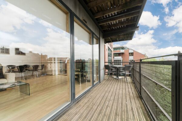Balcony, The Quays Riverside Apartments, Leeds