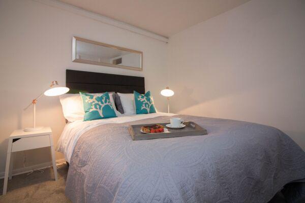 Bedroom, Glen Tennet House Serviced Apartments, East Kilbride