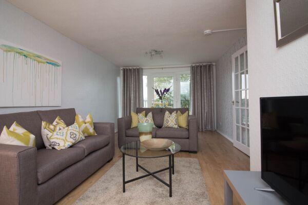 Living Room, Glen Tennet House Serviced Apartments, East Kilbride