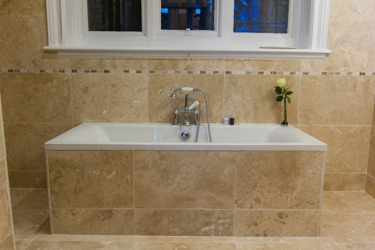 Bathroom, Hatton Garden Serviced Apartments, Liverpool