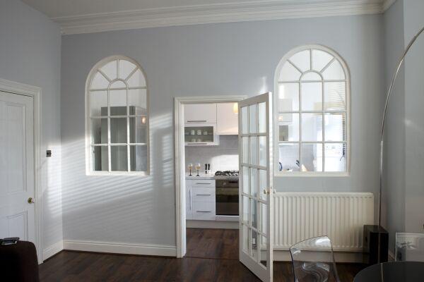 Kithcen Warwick Place Serviced Apartments, Leamington Spa