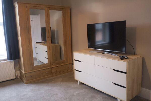 Bedroom Avenue Road Serviced Apartment Leamington Spa
