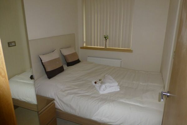 Bedroom, Barkus Way Serviced Apartment, High Wycombe
