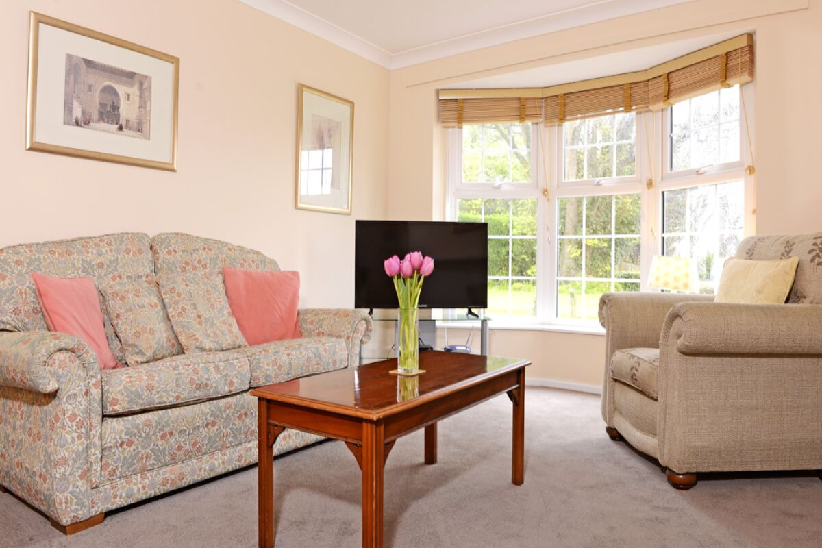 Living Area, Meads Haven Cottage Serviced Accommodation, Eastbourne