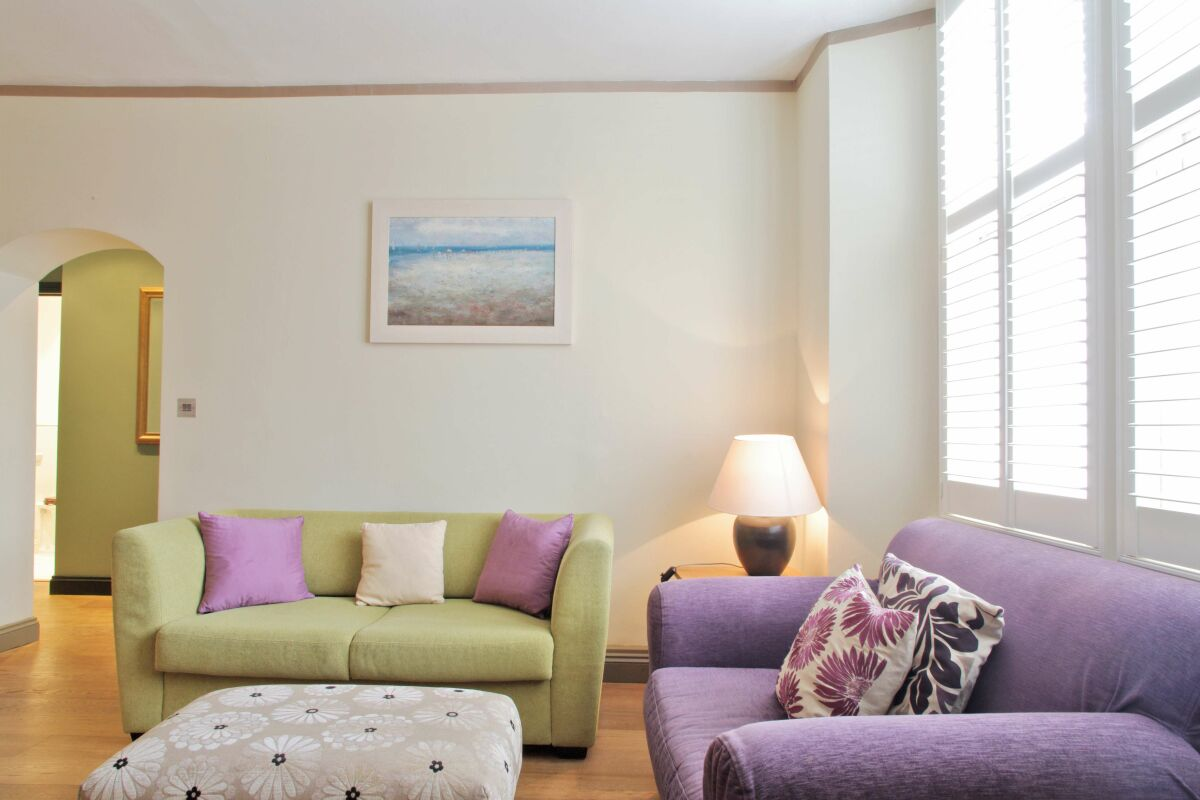 Sitting Area, Hurlingham Serviced Apartment, Fulham