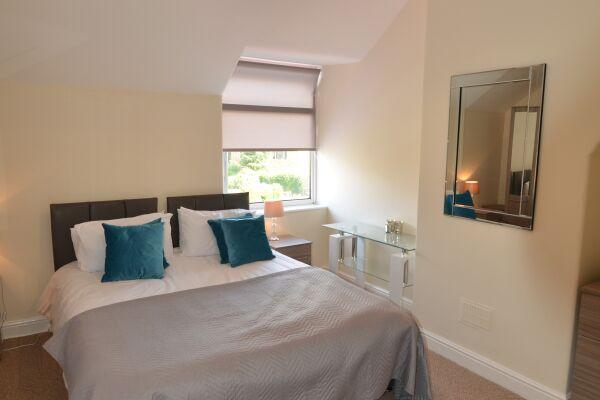 Bedroom, Chestnut House Serviced Accommodation, Harrogate