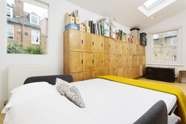 Bedroom, Ronalds Road Serviced Apartment, Highbury