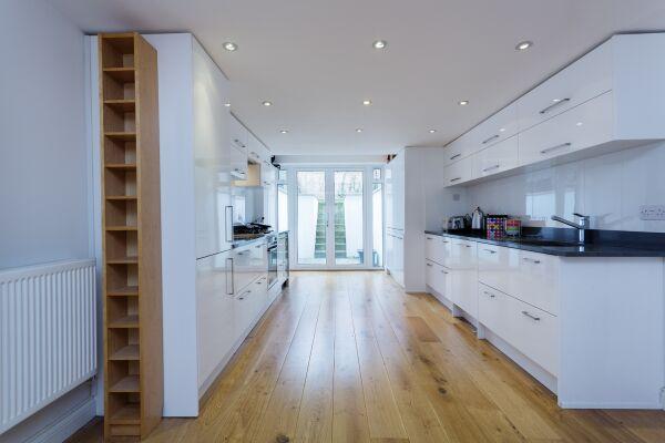 Kitchen, Tavistock Terrace Serviced Apartment, Islington
