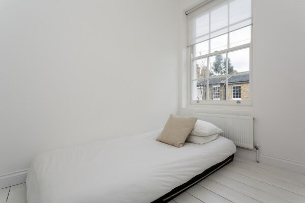 Bedroom, Tavistock Terrace Serviced Apartment, Islington