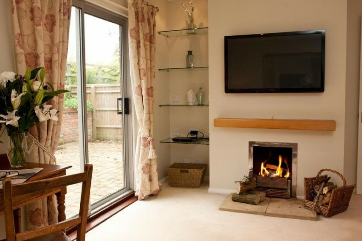 Living Area, The Stables Serviced Accommodation, Oxford