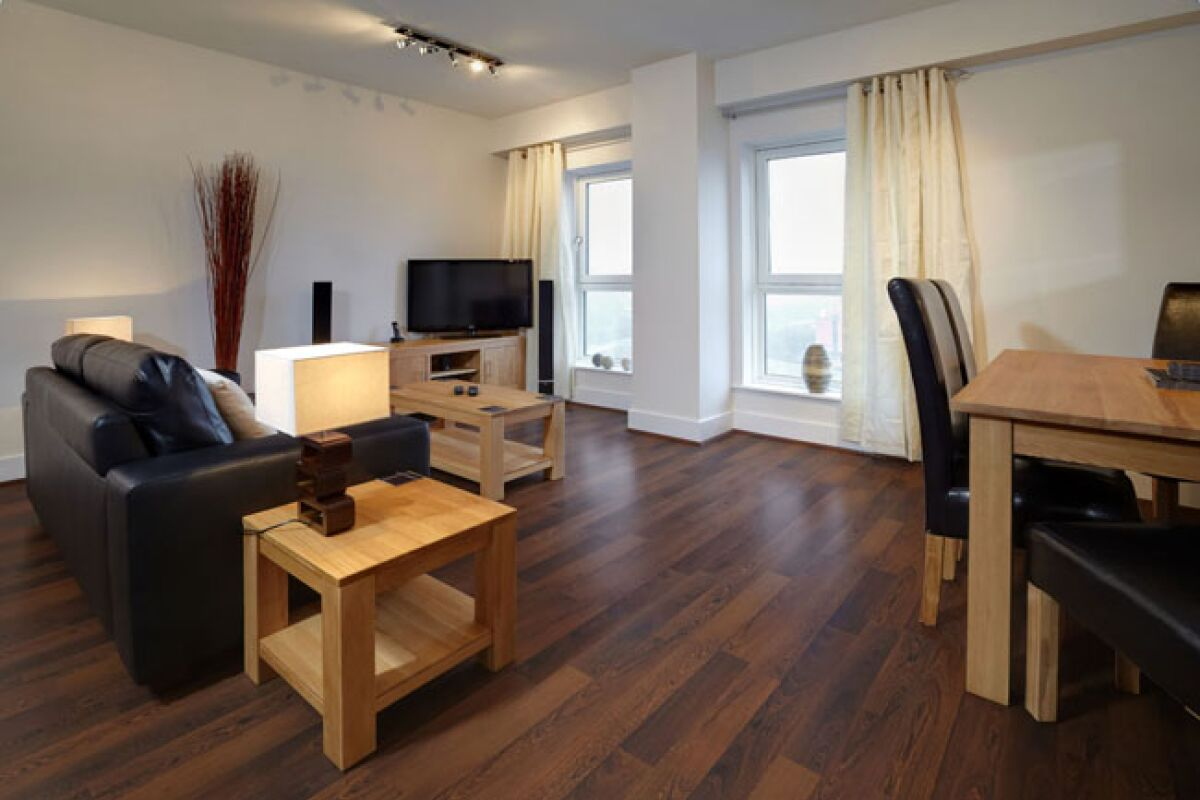 Skyline Plaza Serviced Apartments, Living Room, Basingstoke
