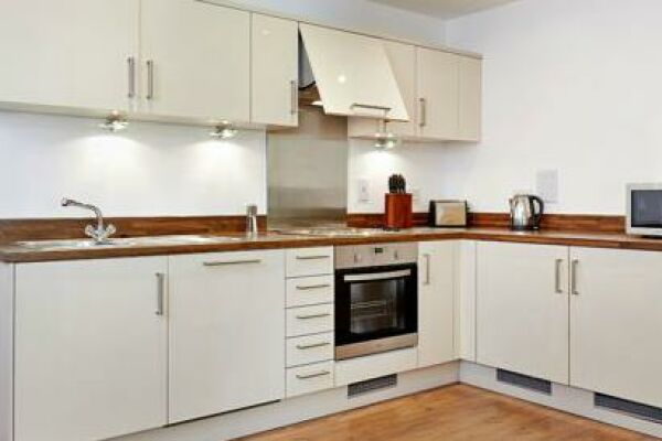 Kitchen, Guild House Serviced Apartments, Swindon